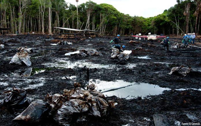 Derrame de petróleo - Ideeleradio