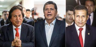 Alejandro Toledo - Alan García - Ollanta Humala - Foto: Congreso