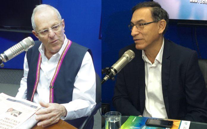 Pedro Pablo Kuczynski - Martín Vizcarra
