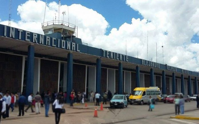 Aeropuerto Juan Velasco Astete - Foto: Andina