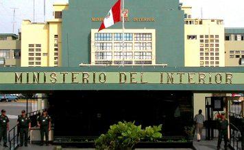 Ministerio del Interior - Foto: Mininter