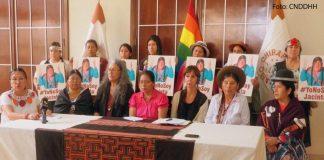 Conferencia en la CNDDHH contra la Paisaja Jacinta