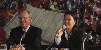 Keiko Fujimori - Pedro Pablo Kuczynski - Foto - Andina