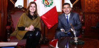 Mercedes-Aráoz - Luis Galarreta - Ideeleradio - Foto: Congreso