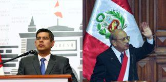 Luis Galarreta - Valentín Paniagua - Foto: Congreso
