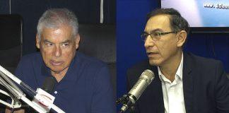 César Villanueva - Martín Vizcarra - Ideeleradio