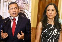 Ollanta Humala - Nadine Heredia - Foto: Congreso