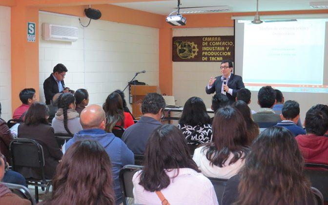 Glatzer Tuesta en Tacna- Ideeleradio
