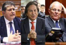 Alan García - Alejandro Toledo - Pedro Pablo Kuczysnki - Foto: Congreso