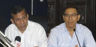 Ollanta Humala - Martín Vizcarra - Foto: Ideeleradio