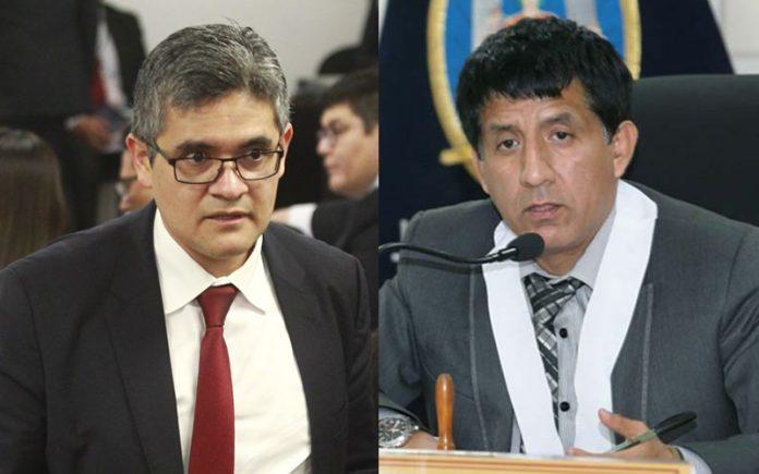 José Domingo Pérez - Richard Concepción Carhuancho - Foto: Andina - Poder Judicial