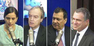 Verónika Mendoza - Carlos Basombrío - Jorge Nieto - Salvador del Solar - Ideeleradio