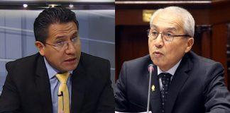 Amado Enco - Pedro Chávarry - Foto: Congreso