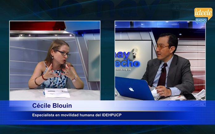 Cecile Blouin - Ideeleradio - El Perú no trata