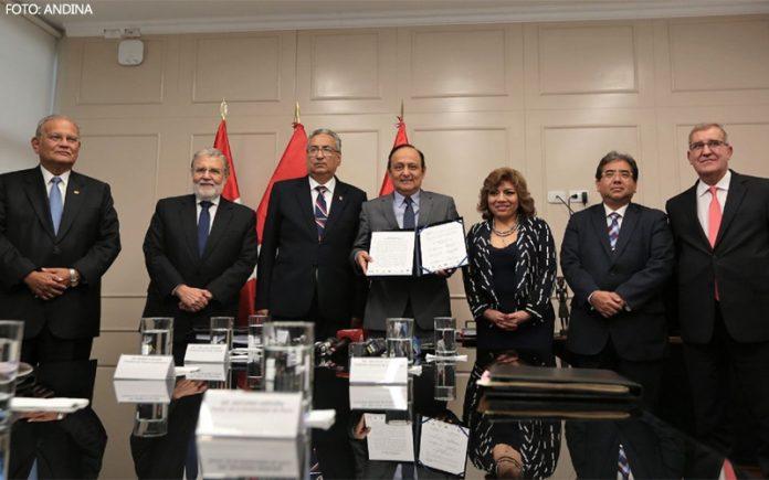 Comisión Especial de la Junta Nacional de Justicia - Foto: Andina