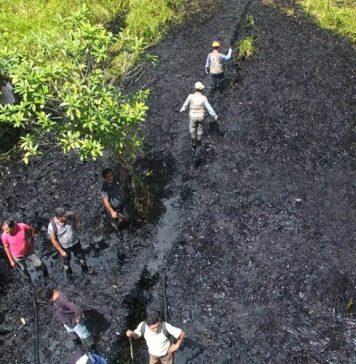 Derrame en Nuevo Progreso - Foto: Fiscalía
