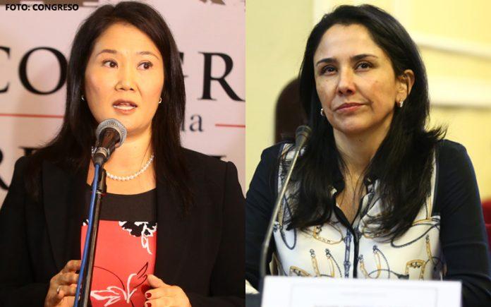 Keiko Fujimori - Nadine Heredia - Foto: Congreso
