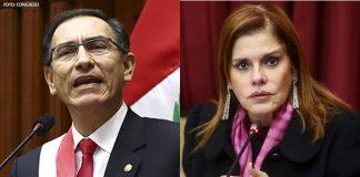 Martín Vizcarra - Mercedes Aráoz - Foto: Congreso