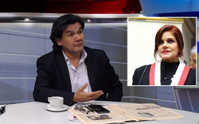 Javier Torres - Mercedes Aráoz - Foto: Congreso