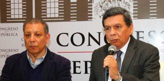 Marco Arana - Hernando Cevallos - Foto: Congreso