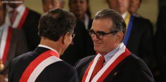 Martín Vizcarra - Pedro Olaechea - Foto: Congreso