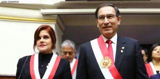 Mercedes Aráoz - Martín Vizcarra - Foto: Congreso