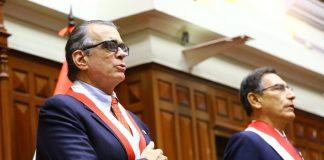 Pedro Olaechea - Martín Vizcarra - Foto: Congreso
