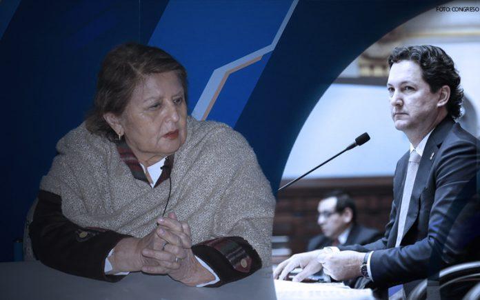 Carmen González - Daniel Salaverry - Foto: Congreso