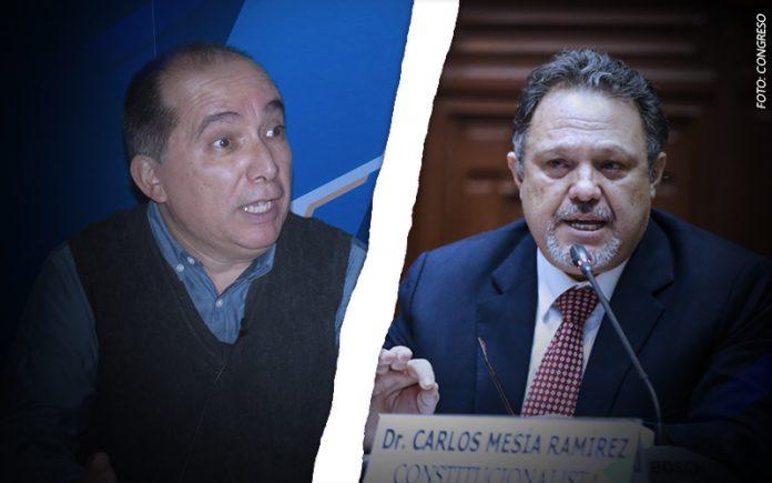 David Lovatón - Carlos Mesía - Foto: Congreso