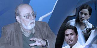 Alberto Adrianzén - Verónika Mendoza - Vladimir Cerrón (Foto: Congreso)