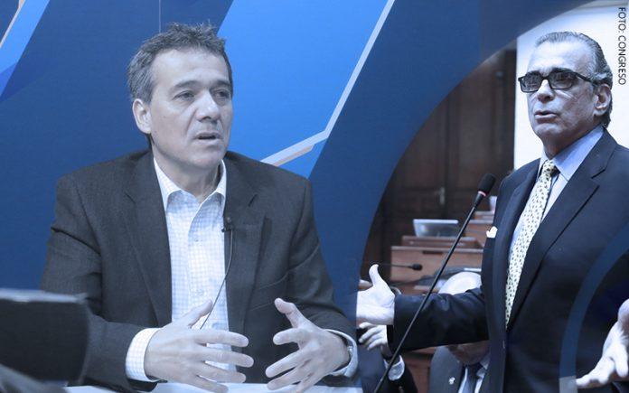 Alonso Segura - Pedro Olaechea - Foto: Congreso