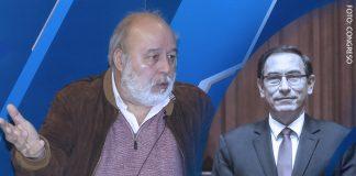 Carlos Monge - Martín Vizcarra - Foto: Congreso