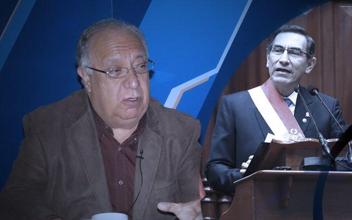 Fernando Tuesta - Martín Vizcarra (Foto: Congreso)