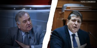 Luis Alberto Salgado - Alan García (Foto: Congreso)