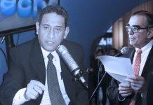 Mesías Guevara - Pedro Olaechea (Foto: Congreso)
