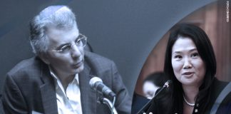 Álvaro Vargas Llosa - Keiko Fujimori (Foto: Congreso)