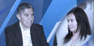 Avelino Guillén - Keiko Fujimori (Foto: Poder Judicial)
