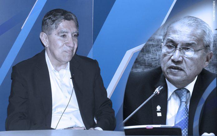 Avelino Guillén - Pedro Chávarry (Foto: Congreso)