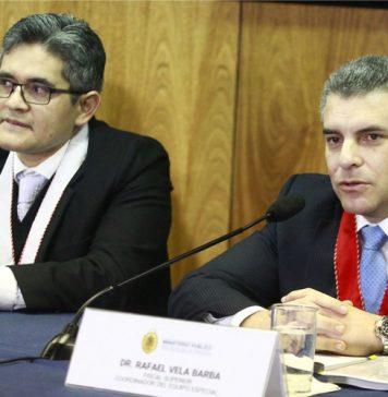 José Domingo Pérez - Rafael Vela (Foto: Andina)