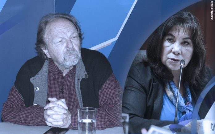 Salomón Lerner Ghitis - Martha Chávez - (Foto: Congreso)