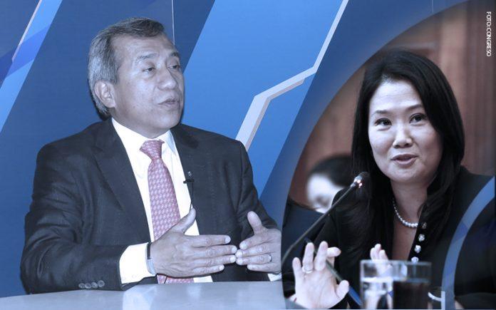 Samuel Abad - Keiko Fujimori (Foto-Congreso)