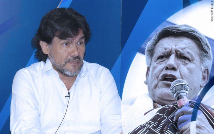 Javier Torres - César Acuña (Foto: Andina)