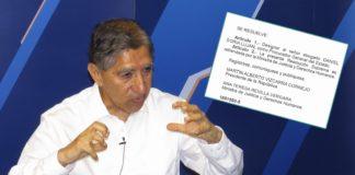 Avelino Guillén - Resolución El Peruano (Foto: Normas Legales)