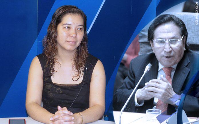 Romy Chang - Alejandro Toledo (Foto: Congreso)