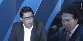 Vicente Zeballos - Alejandro Toledo (Foto: Congreso)