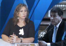 Zenaida Solís - Carlos Morán - (Foto: Congreso)