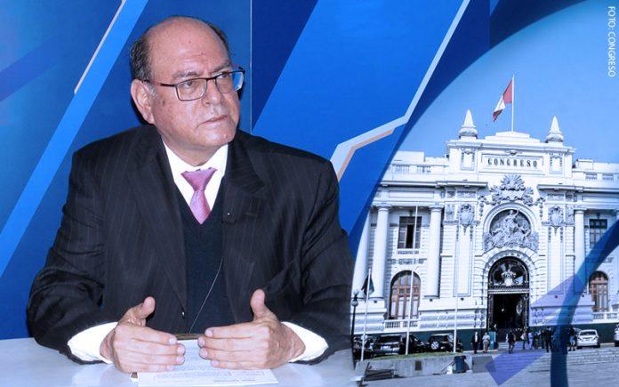 César Landa - Parlamento (Foto: Congreso)