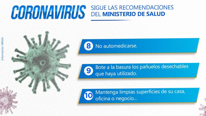 Coronavirus - Ideeleradio (Recomendaciones del Ministerio de Salud) 3