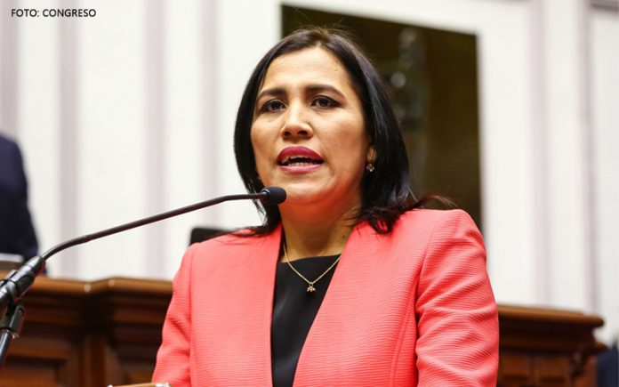 Flor Pablo (Foto: Congreso)