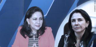 Gloria Montenegro - Nadine Heredia (Foto: Congreso)